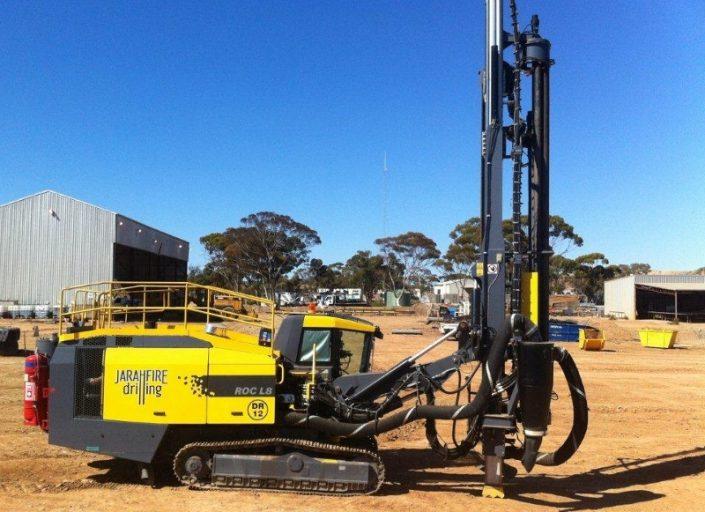 Jarrahfire Drilling Atlas Copco L8 Fleet