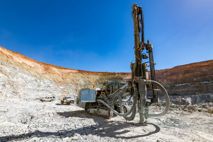 Jarahfire Drilling Atlas Copco Drill Hole Blasting