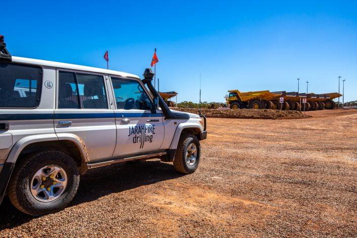 Jarahfire Drilling – a drill & blast, grade control and exploration company
