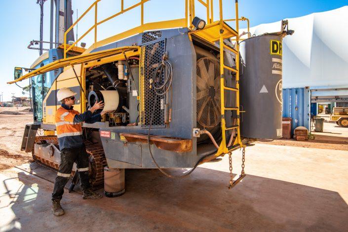 Jarrahfire Drilling Atlas Copco Fleet