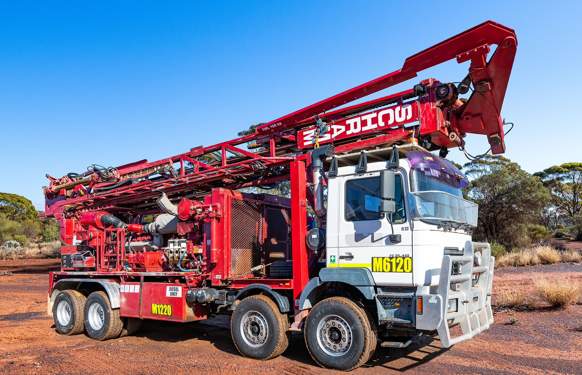 Jarahfire Schramm T685 Exploration Drilling