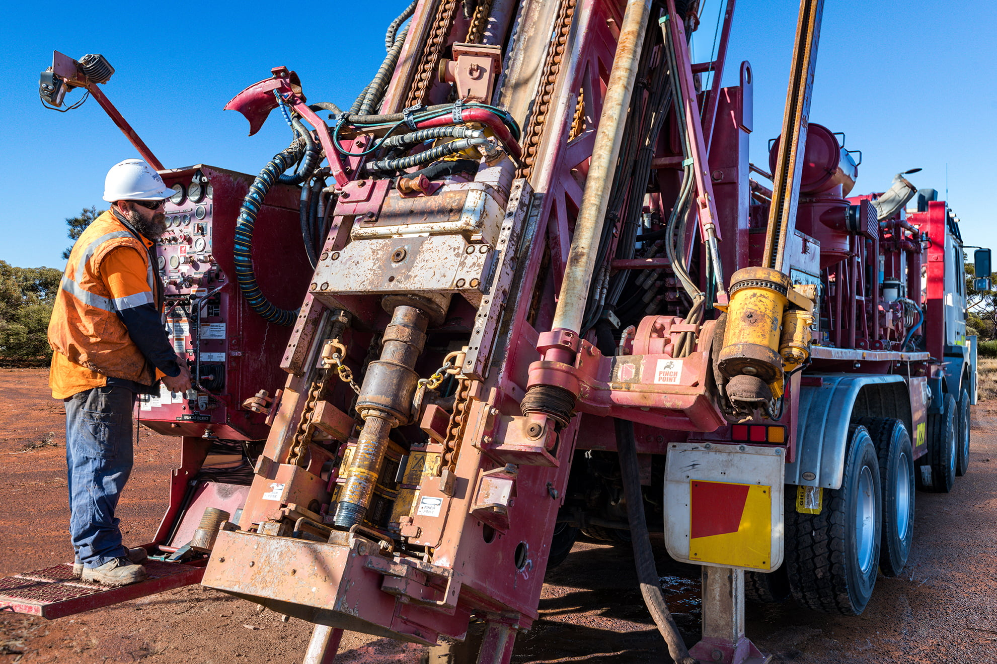 Jarahfire Schramm T685 Exploration Drilling